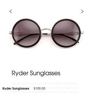 Wild fox round sunglasses